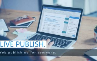 Live Publish | Web publishing for everyone