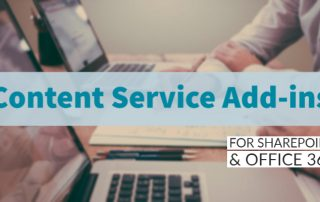 Content Service Add-ins | for SharePoint & Office 365